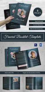 Funeral Booklets 5 Funeral Booklet Templates Word Psd Format Download Free