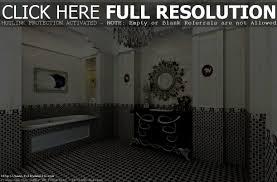 Striped Wallpaper Bathroom Bathroom Pleasant Tips For Rocking Bathroom Black And White