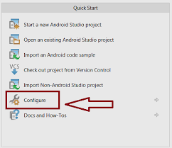 android gradle content of android studio
