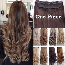 one clip in hair extensions clip in hair extensions ebay