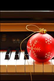 ornament on piano stock photo image 46385012