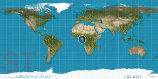 map of sao tome são tomé latitude longitude