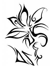 flower tribal drawing how to draw a hawaiian flower hawaiian