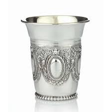 seder cup zechariah sterling silver kiddush cup jjudaica