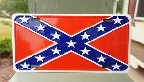 confederate flag license plate patriot depot