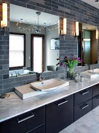 gray bathroom tile ideas 9 bold bathroom tile designs hgtv u0027s decorating u0026 design blog hgtv