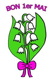 coloriage muguet pour le 1er mai  cailloux  Pinterest  Muguet