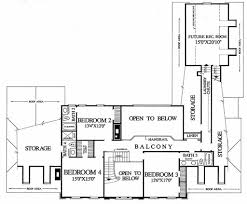 colonial style house plan 4 beds 4 00 baths 4204 sq ft plan 137 112