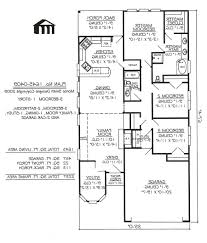 3 Bedroom House Plans One Story Home Design Best Single Floor 1 Story House Plans 3 Bedroom