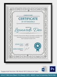 certificate of achievement template 43 formal and informal