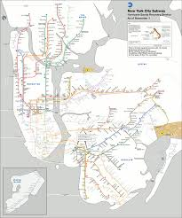 Train Map New York by Business Buzz 66 The Atlantic Wire Watch The New York Subway
