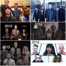 evolution of pentatonix album on imgur