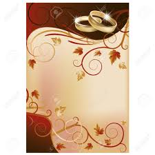 Wedding Invite Card Stock Autumn Wedding Invitation Card Royalty Free Cliparts Vectors And