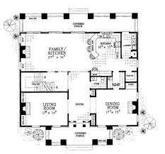 classical style house plan 4 beds 3 50 baths 4000 sq ft plan 72 188