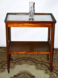 removable tray top table vintage mahogany removable tray top serving tea trolley side table