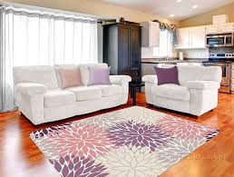 Purple Rugs For Bedroom Pink Purple Rug Area Rug Dahlia Rug Beige Gray Rug Baby