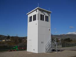 prefabricated observation towers for sale panel built