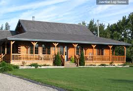 one story log home floor plans is a log home kit the best choice country living