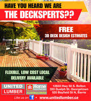Home Hardware Deck Design Home Hardware Building Centre In Georgetown On 905 873 8007