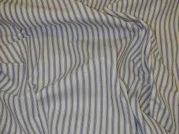 Cream Ruffle Curtains Curtain Fabric Upholstery Fabric Extra Wide Ticking Blue Cream
