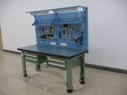 metal workbench ideas bench decoration