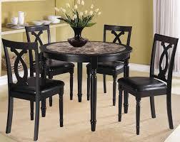 black dining room chairs set of 4 dining room tables black marceladick com