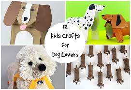 12 kids crafts for dog lovers