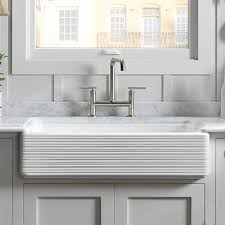 Kitchen Barn Sink Farmhouse Apron Kitchen Sinks Kitchen Sinks The Home Depot