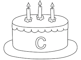 coloring pages cakes coloring home