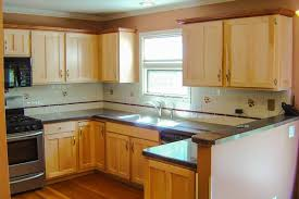 Natural Maple Kitchen Cabinets Photos Affordable Cabinet Refacing Nu Look Kitchens