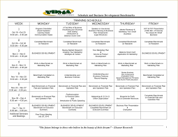 word training calendar template outline training training schedule