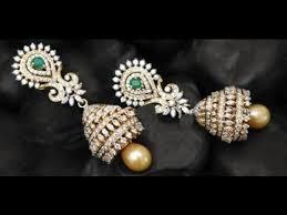 buttalu earrings diamond buttalu