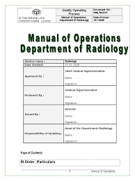 radiology procedure manual radiology medical imaging