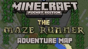 Adventure Map The Maze Runner Minecraft Pocket Edition U2013 Adventure Map Youtube