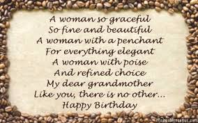 birthday poems for grandma u2013 wishesmessages com