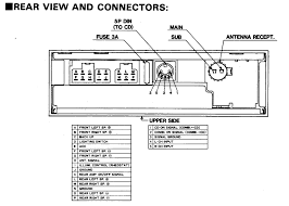 pioneer car radio wiring diagram and mazda miata bose cq jm1710 af