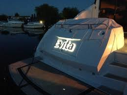 stainless steel illuminated boat names tudor print and signs
