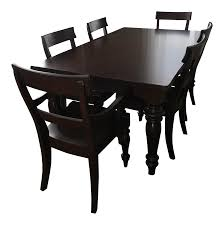 Dining Room Tables Pottery Barn by Pottery Barn Montego Dining Set Chairish