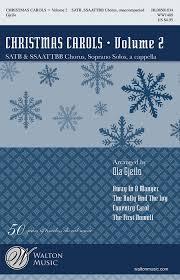 carols volume 2 sheet by ola gjeilo sheet