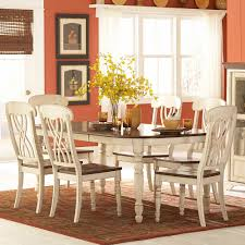 tribecca home mackenzie 7 piece country antique white dining set