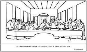 Coloring Pages Last Supper Murderthestout Last Supper Coloring Page