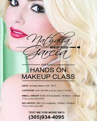 hair and makeup classes nathy makeup artist best makeup artist in miami
