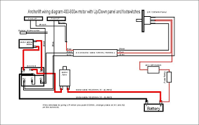 electric anchor winch wiring diagram wiring diagram and