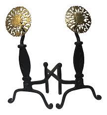 vintage u0026 used black fireplace accessories chairish