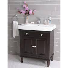 Rustic Wood Bathroom Vanity - bathroom design interior two tones rustic wooden mirror frames