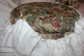 step on it a round ottoman slipcover decor to adore