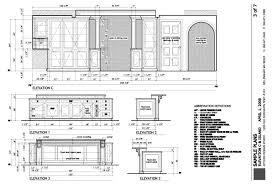 working drawing floor plan kitchen drawings plan construction plans design studio sle 31
