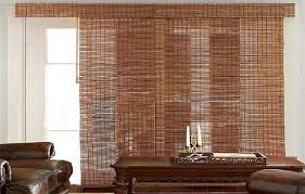 Best Blinds For Patio Doors Bamboo Vertical Blinds For Sliding Doors Door Design