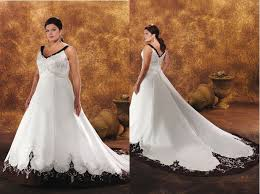 black and white wedding dresses plus size black and white wedding dresses
