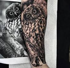 40 owl forearm designs for feathered ink ideas
